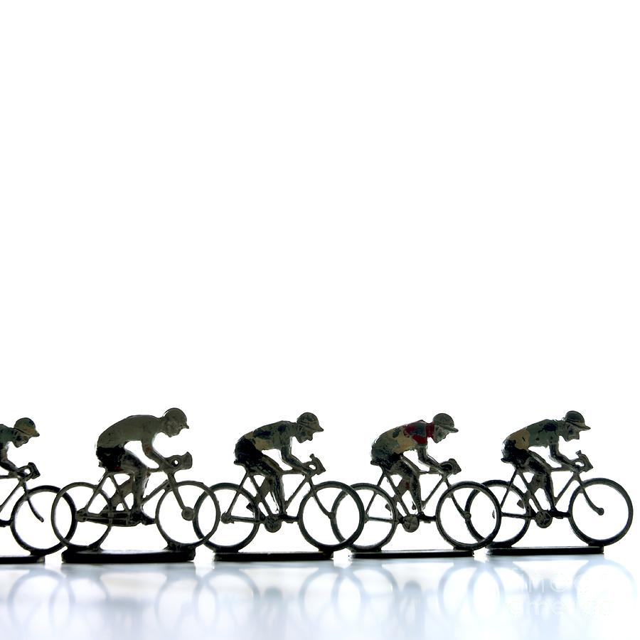 Cyclists Photograph  - Cyclists Fine Art Print