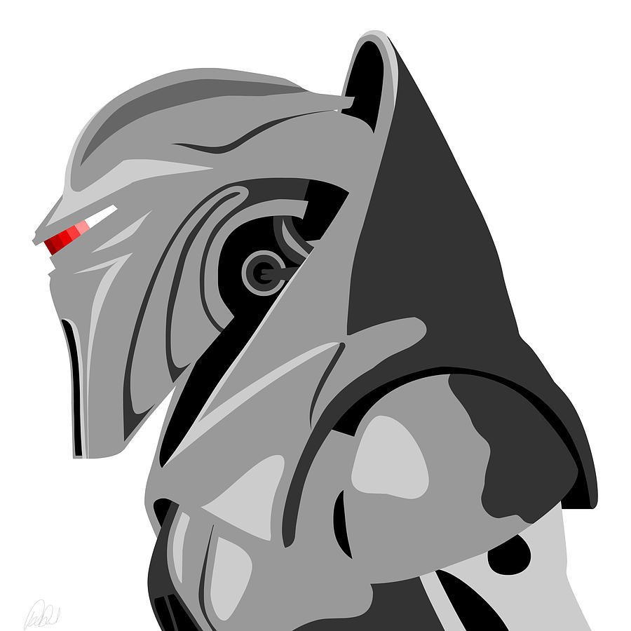 Cylon Drawing  - Cylon Fine Art Print
