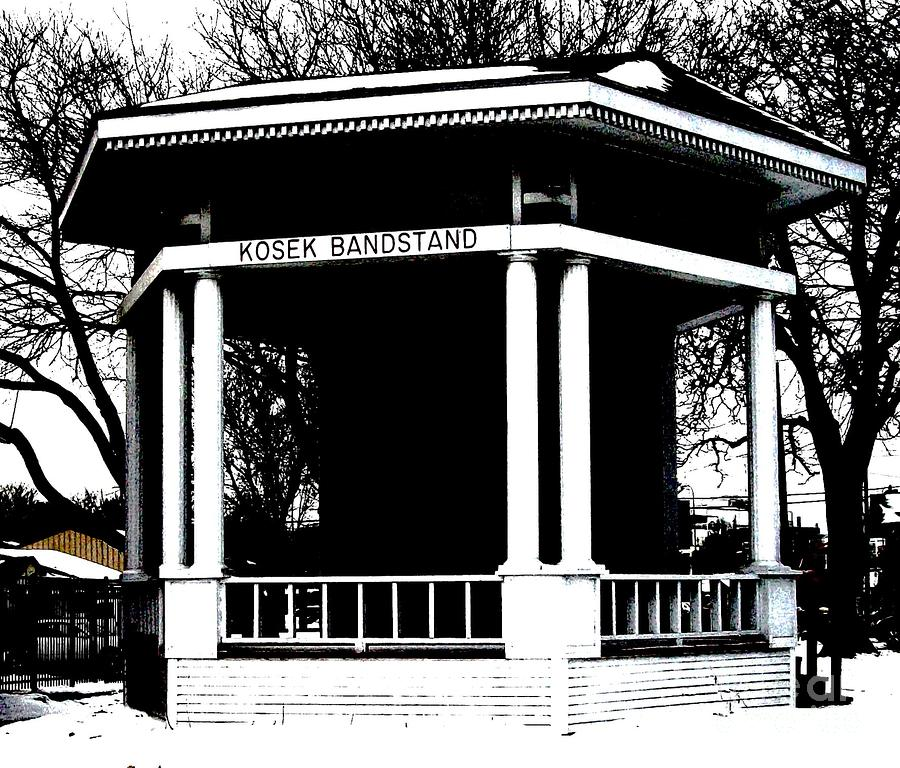 Czech Village Bandstand Photograph  - Czech Village Bandstand Fine Art Print