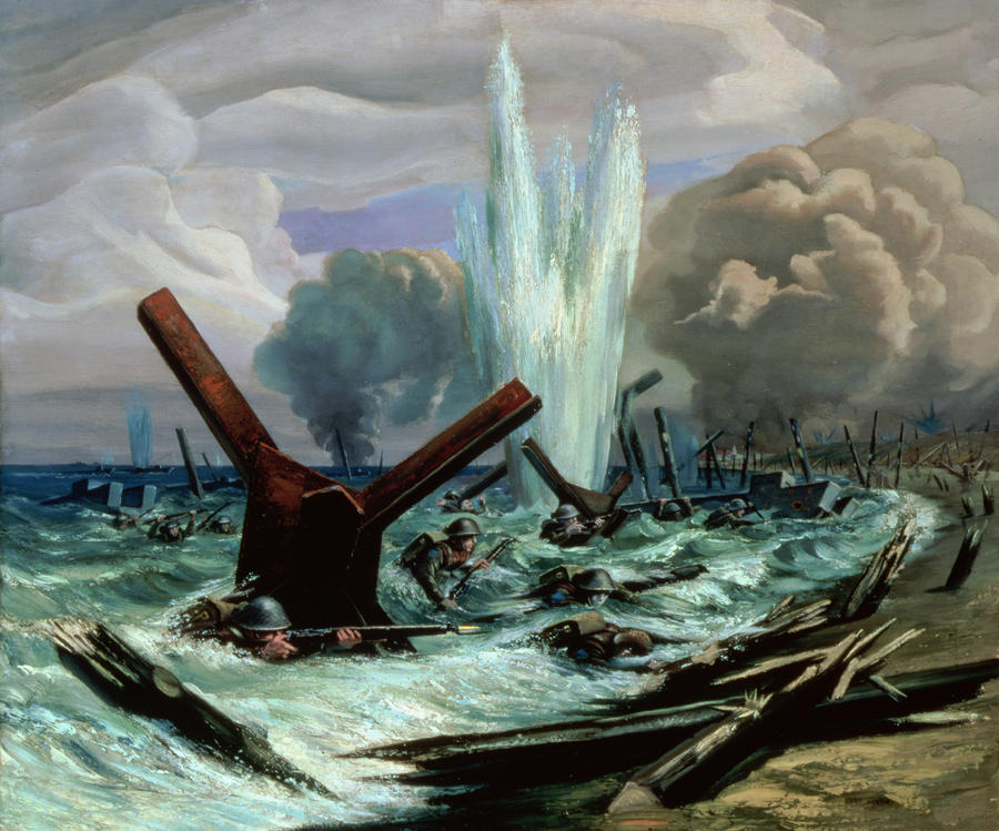 D Day Painting