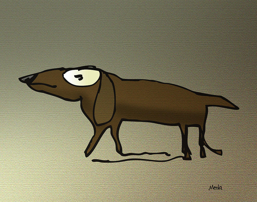 Dachshund Digital Art