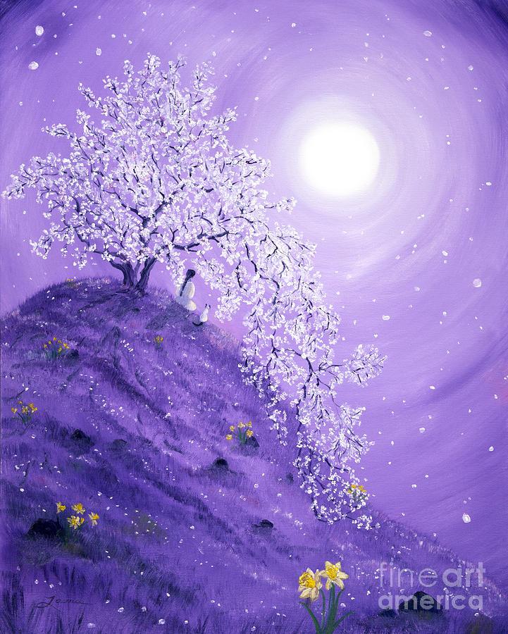 Daffodil Dawn Meditation Painting