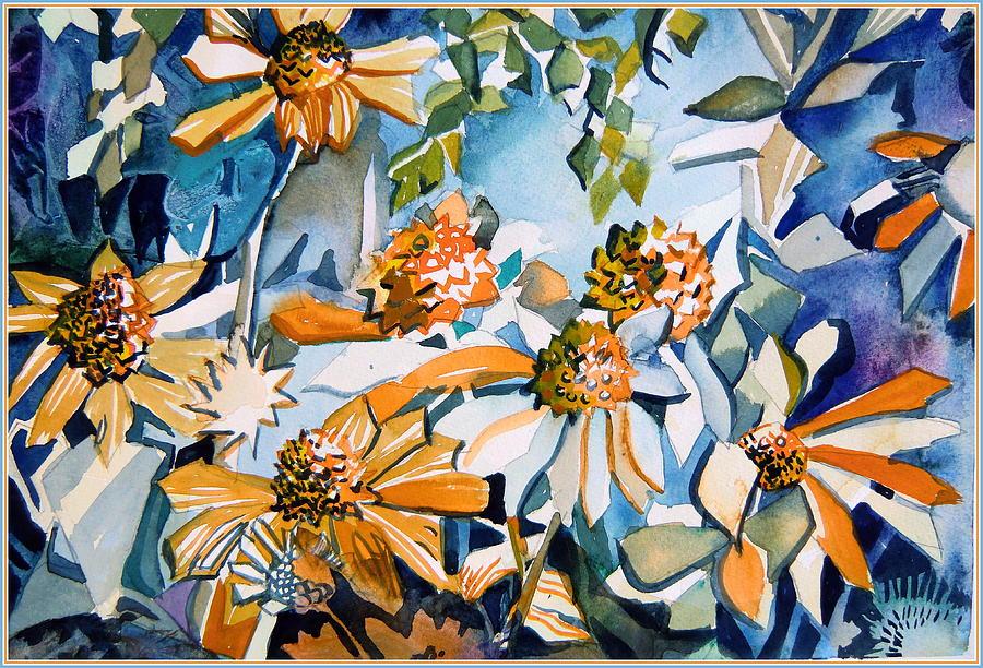 Daisy Carnival Painting