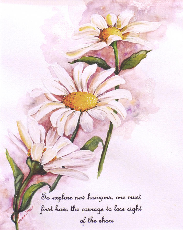 Daisy Flower Poem Paintings Poems About Daisy Flowers