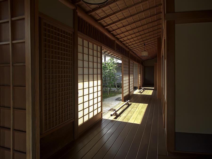 Daitoku Ji Zen Temple Veranda Kyoto Japan Photograph By