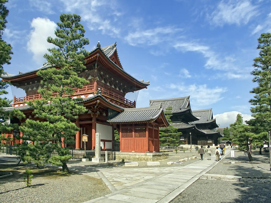 Daitokuji Zen Temple Complex - Kyoto Japan by Daniel Hagerman