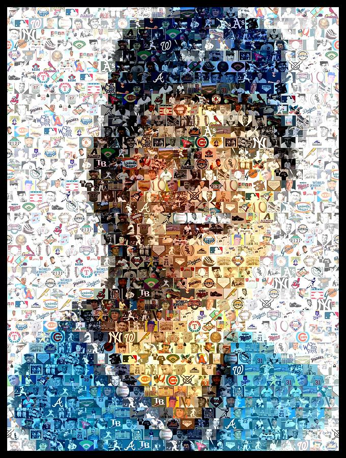Dale Murphy Mosaic Digital Art