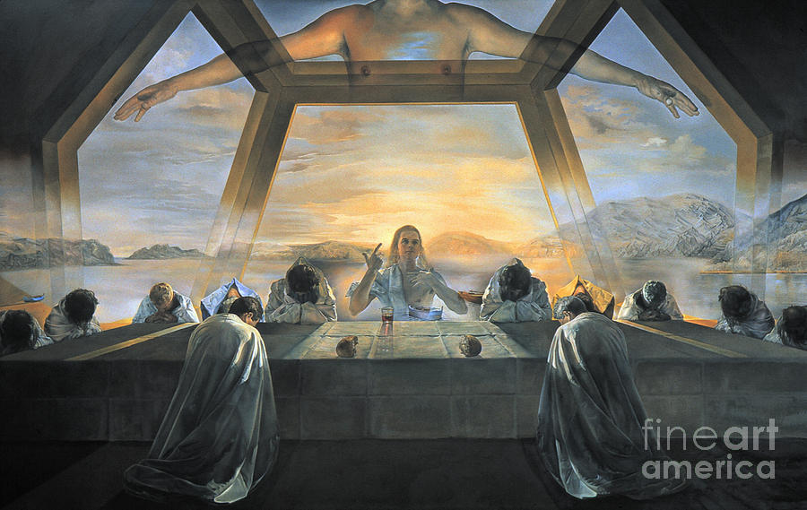 Dali: Last Supper, 1955 Photograph