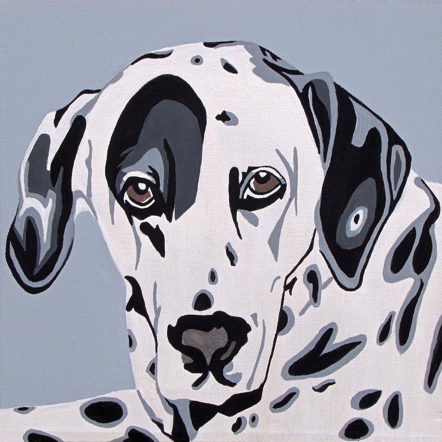 Dalmatian Painting  - Dalmatian Fine Art Print