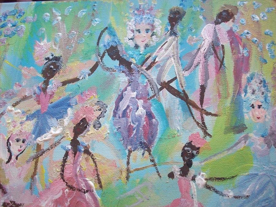 Dame Harmony Pantomime Painting