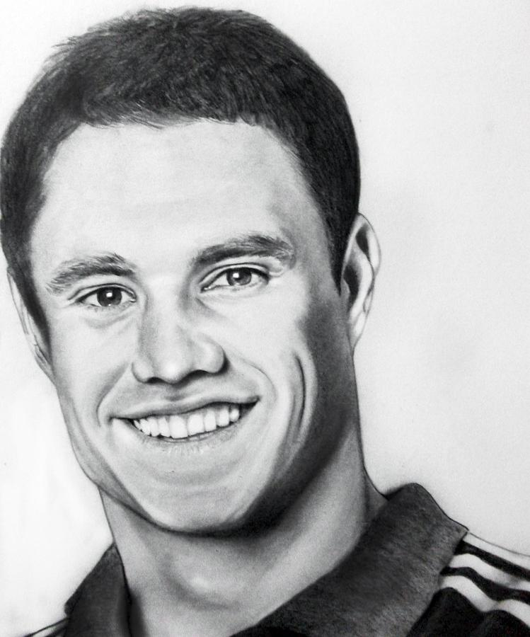 Dan Carter Is A Drawing By Shafina Noor Which Was Uploaded On