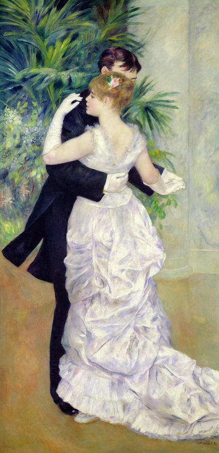 Dance In The City Painting