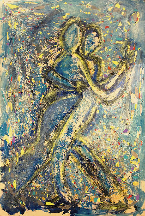 Dance The Night Away With Me Painting  - Dance The Night Away With Me Fine Art Print