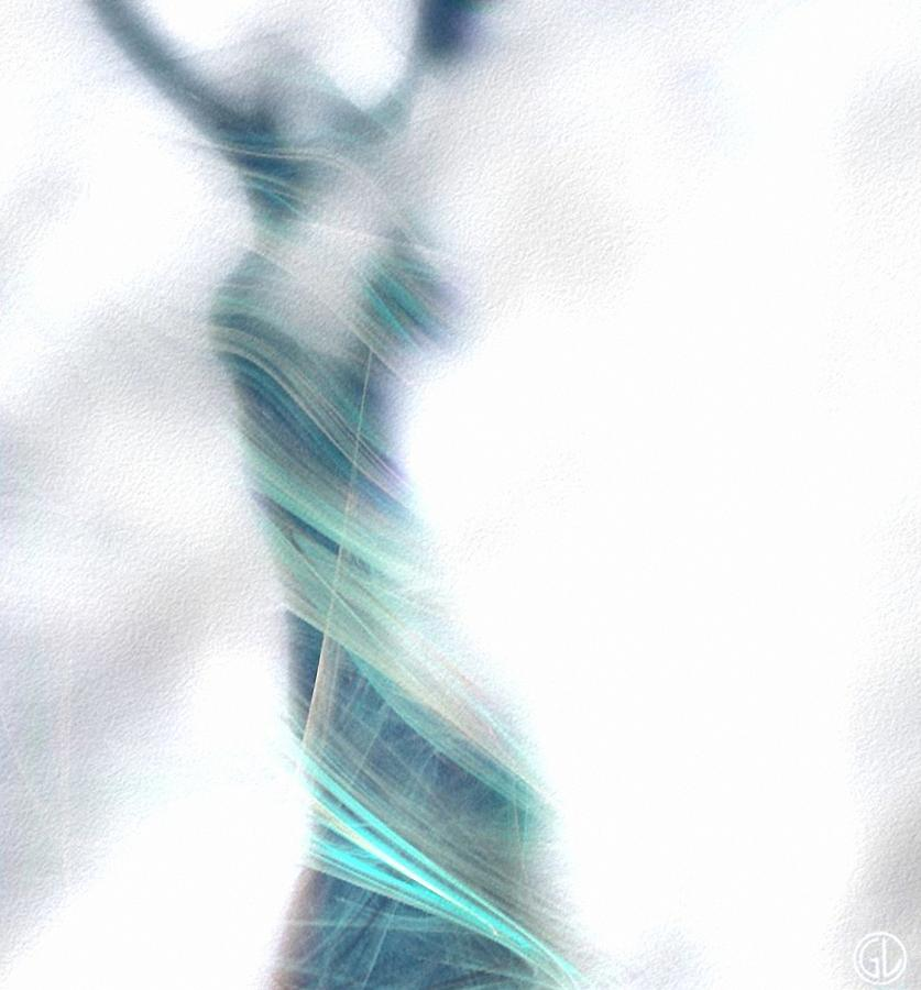 Woman Digital Art - Dance To Meet The Morning by Gun Legler