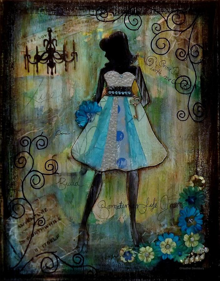 Dance With Me Mixed Media  - Dance With Me Fine Art Print