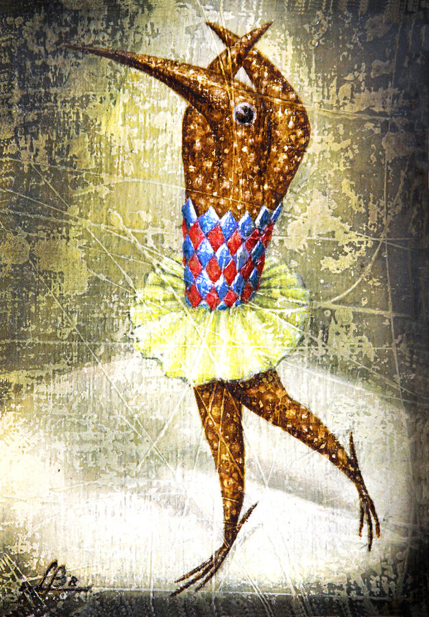 Dancer 3 Painting  - Dancer 3 Fine Art Print