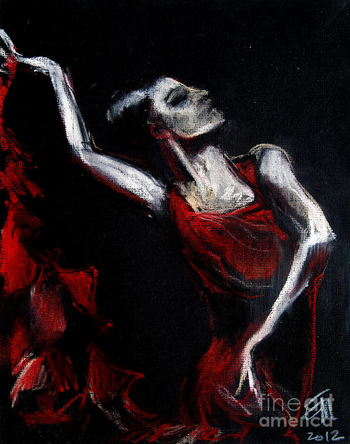 Dancer Pastel  - Dancer Fine Art Print