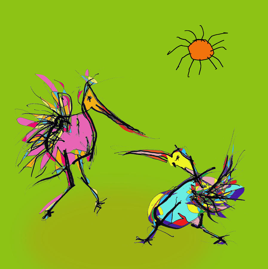 Dancing Bird Picture