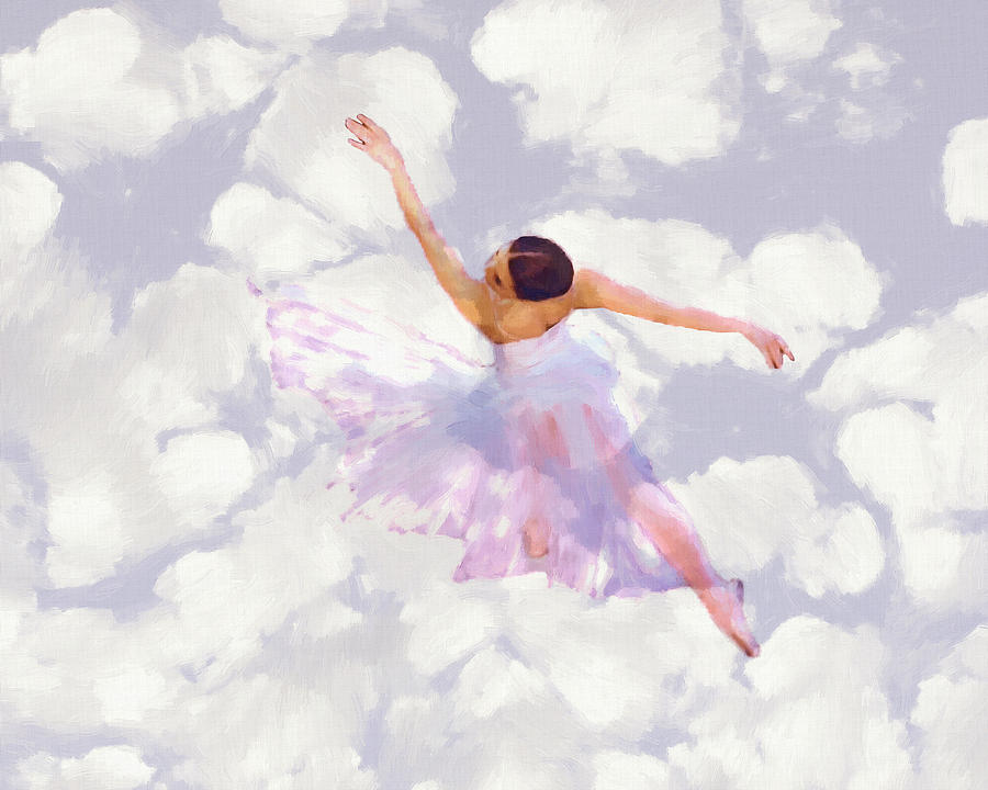 Dancing In The Clouds Painting