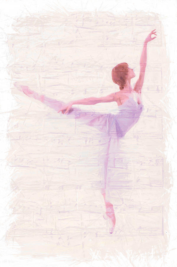 Dancing Melody Painting  - Dancing Melody Fine Art Print
