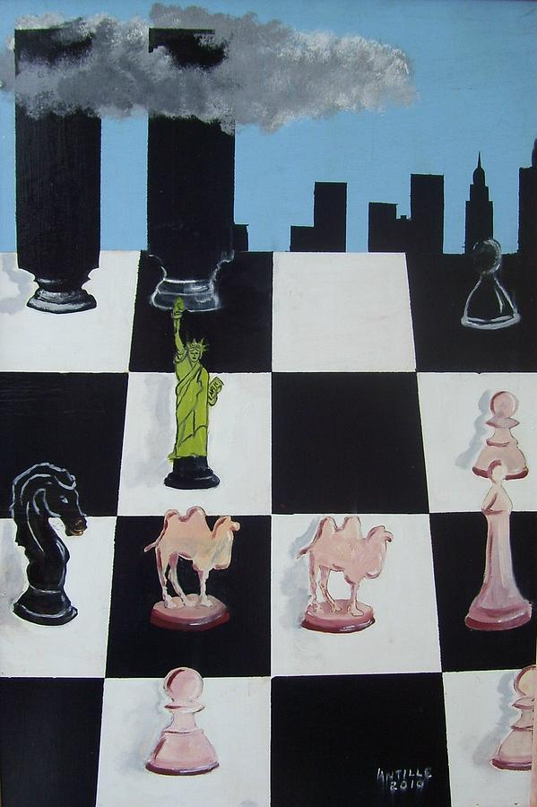 Dangerous Game Painting