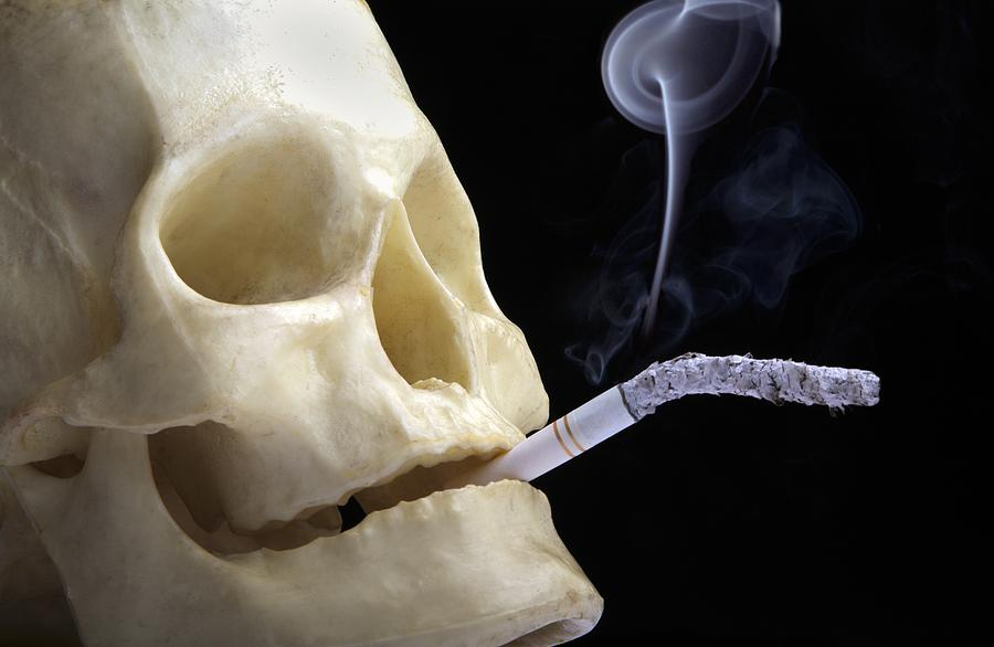 Dangers Of Smoking, Conceptual Image Photograph