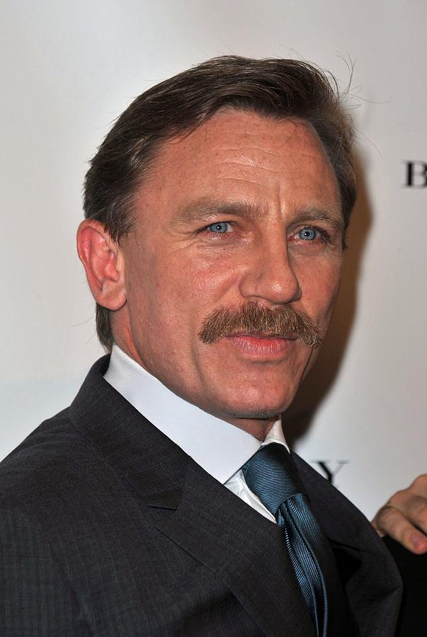 Daniel Craig At The Press Conference Photograph