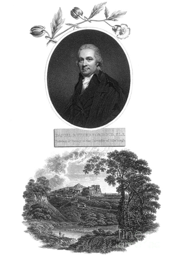 Science Photograph - Daniel Rutherford, Scottish Chemist by Science Source