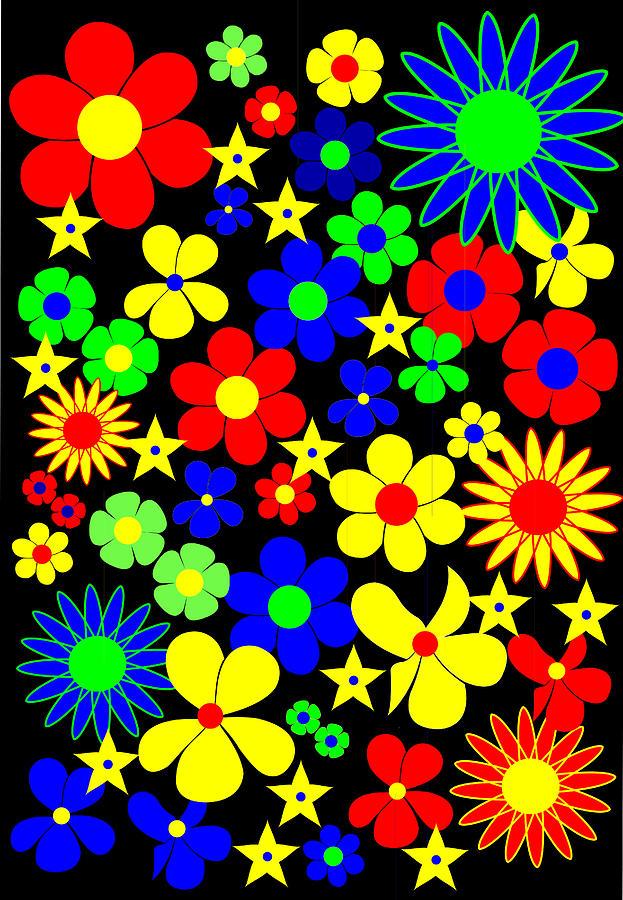 Danish Flowers - Flora Danica Digital Art