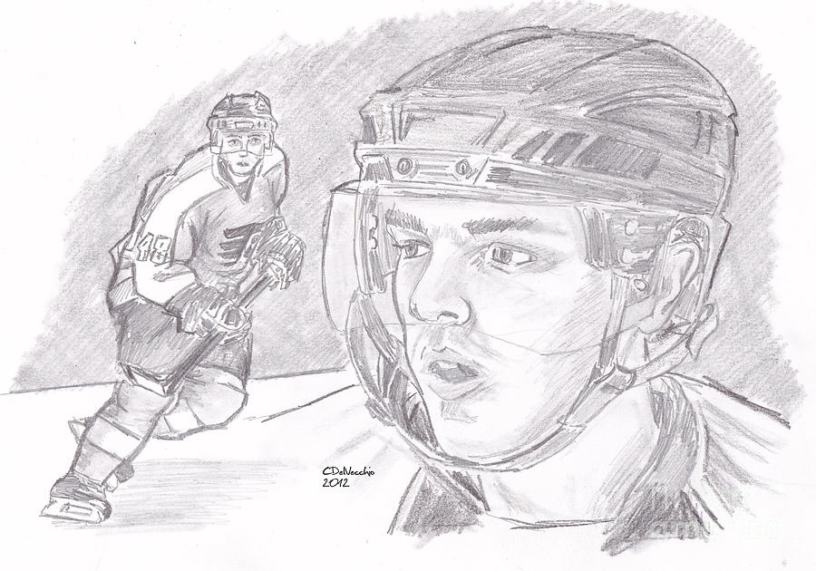 Danny Briere Drawing