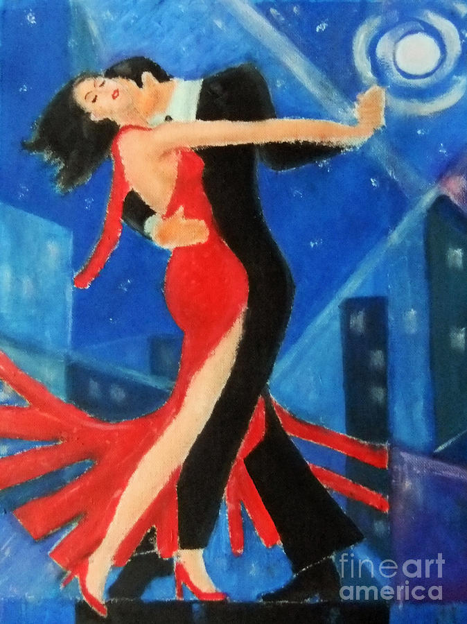 Danser La Vie Painting  - Danser La Vie Fine Art Print