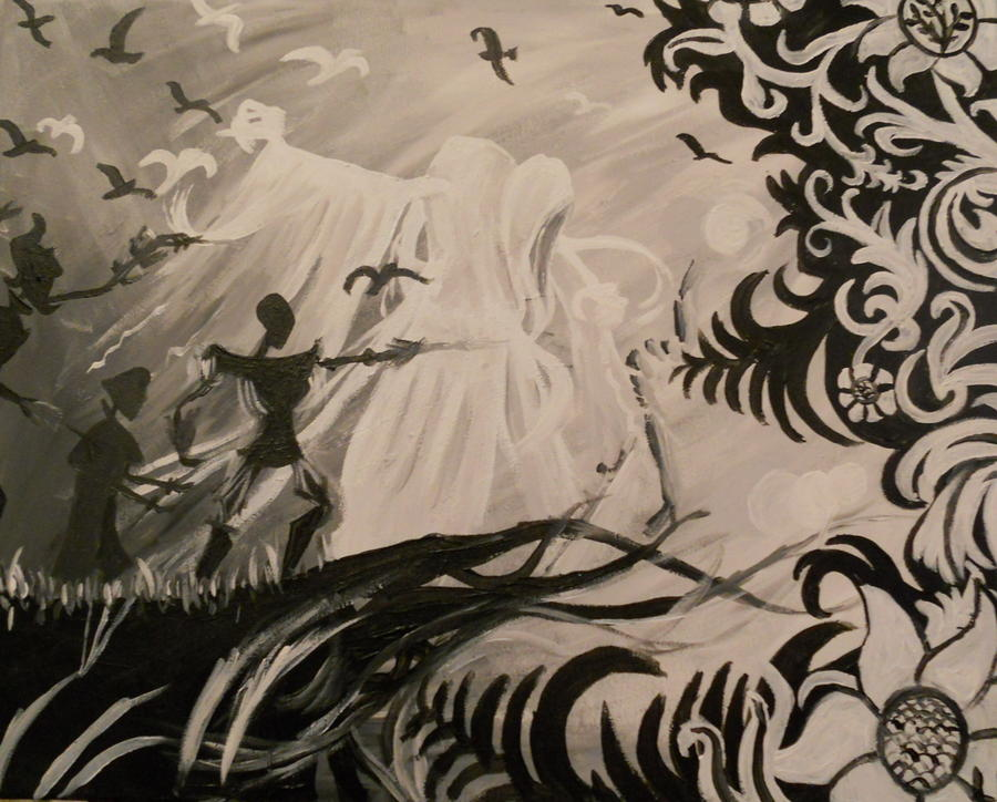 Dark And Light Painting