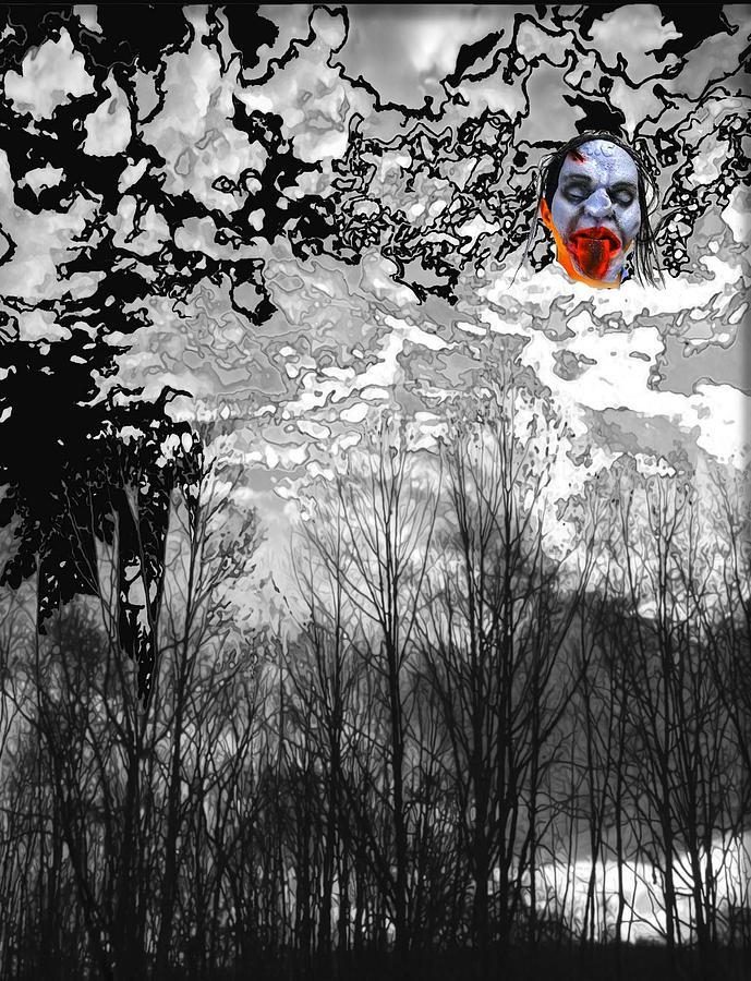 Dark Black Digital Art