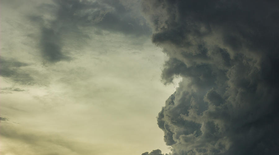 Dark Clouds Photograph  - Dark Clouds Fine Art Print