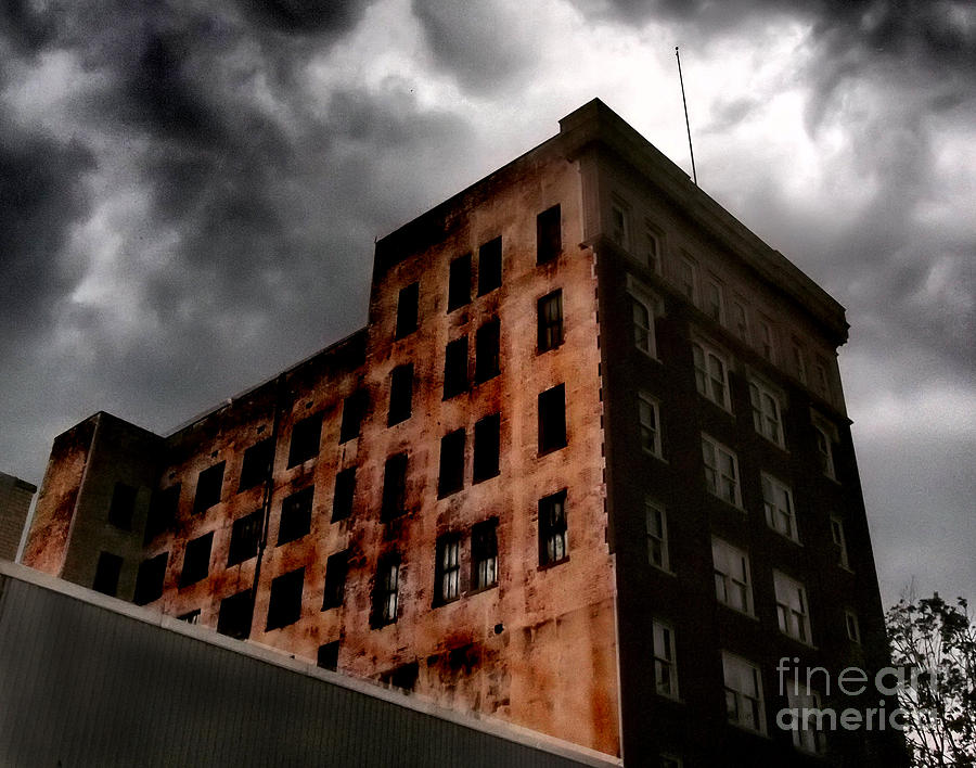 Architecture Photograph - Dark Shadows  by Tammy Cantrell