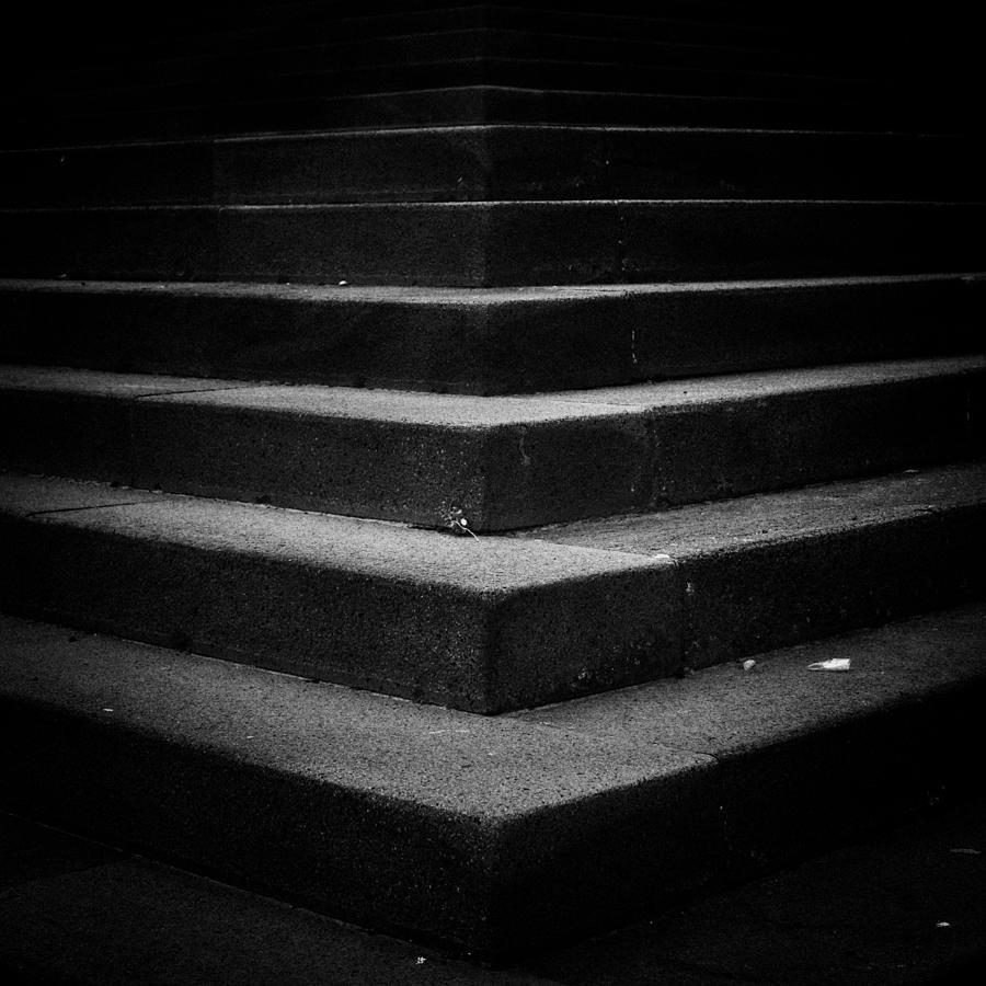 Dark Stairs Photograph