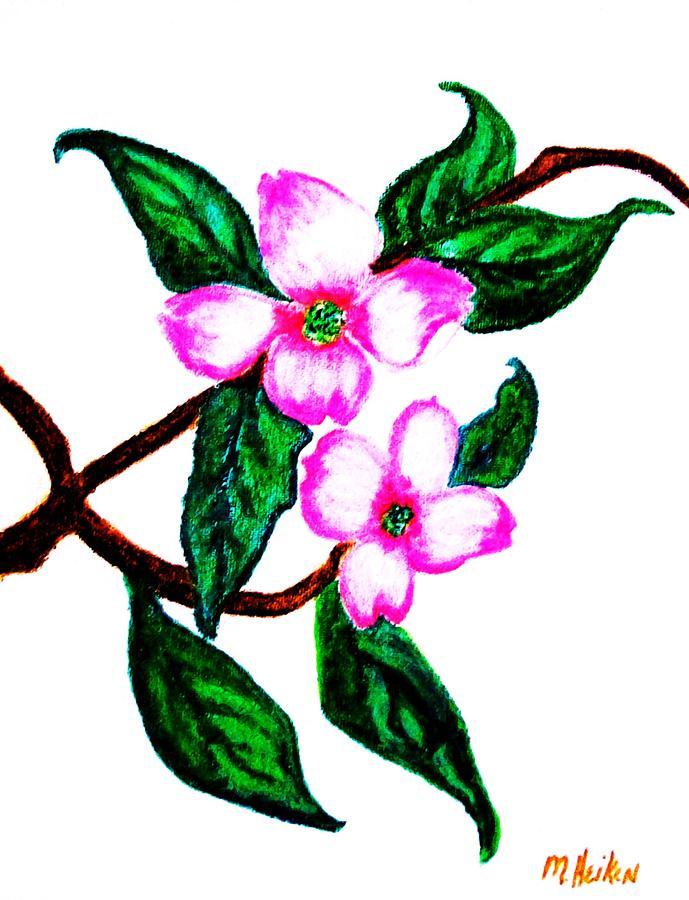 Darling Dogwood Llll Digital Art
