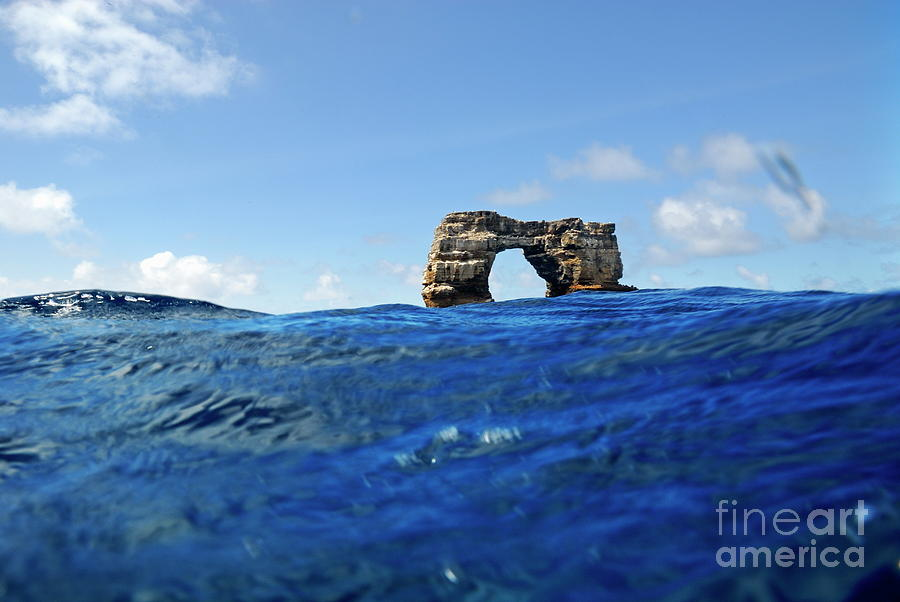 Darwins Arch By Sea Level Photograph  - Darwins Arch By Sea Level Fine Art Print