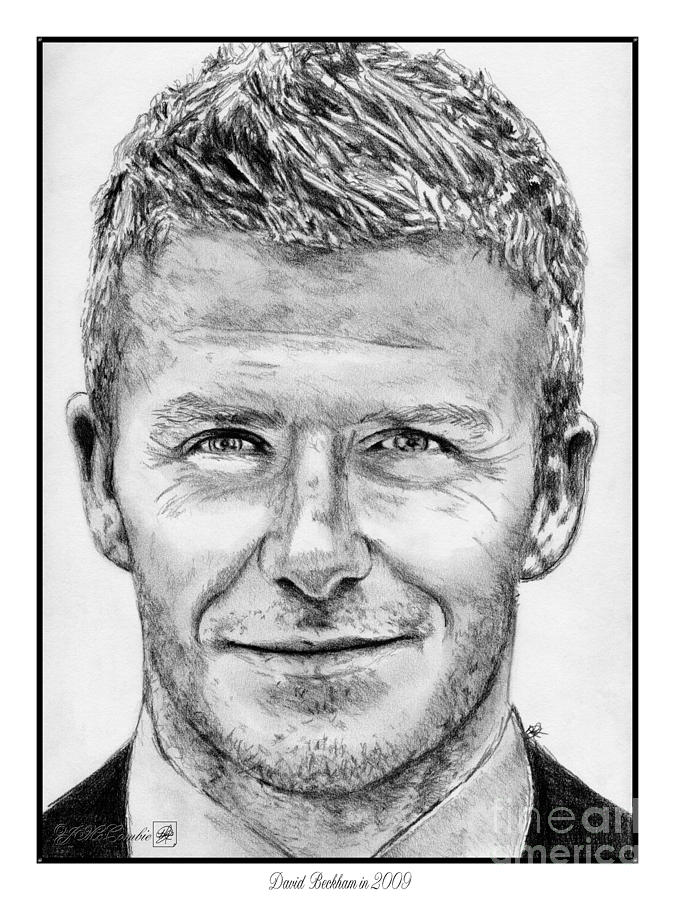 David Beckham In 2009 Drawing