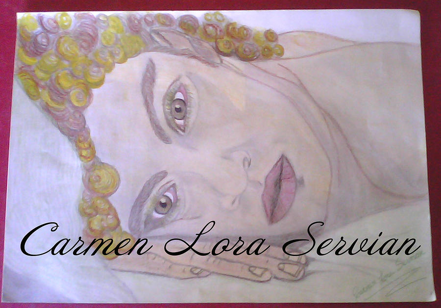 Pastel - David Bisbal by Mary Carmen Lora Servian