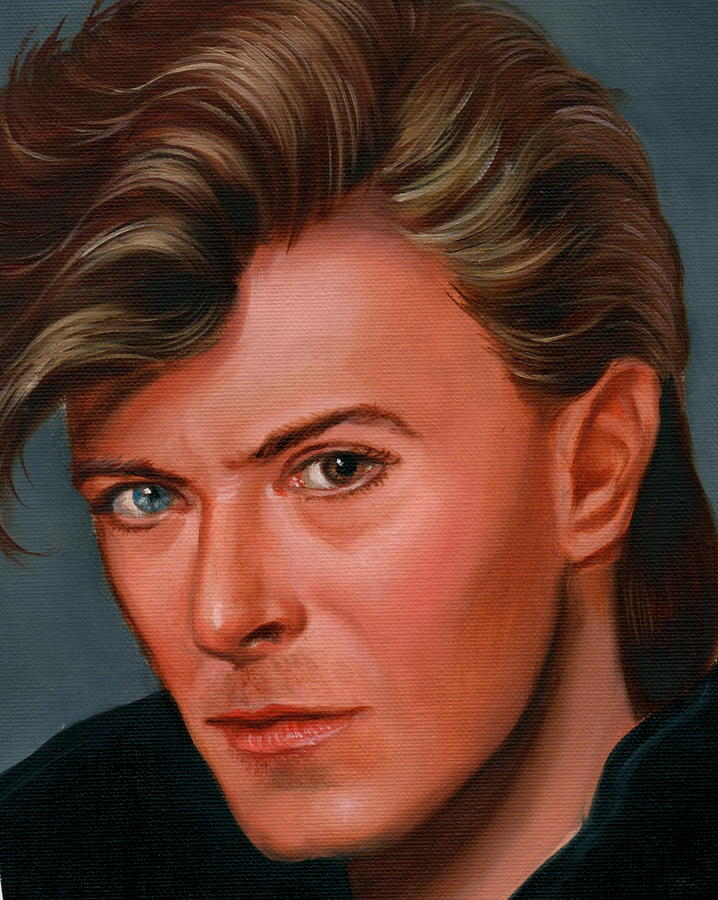 David Bowie Paintings