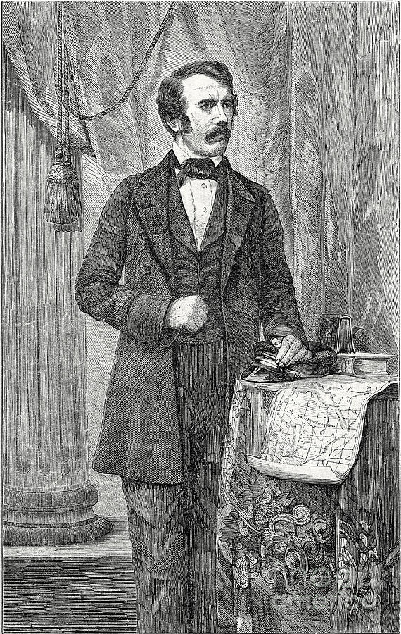 David Livingston, Scottish Missionary Photograph