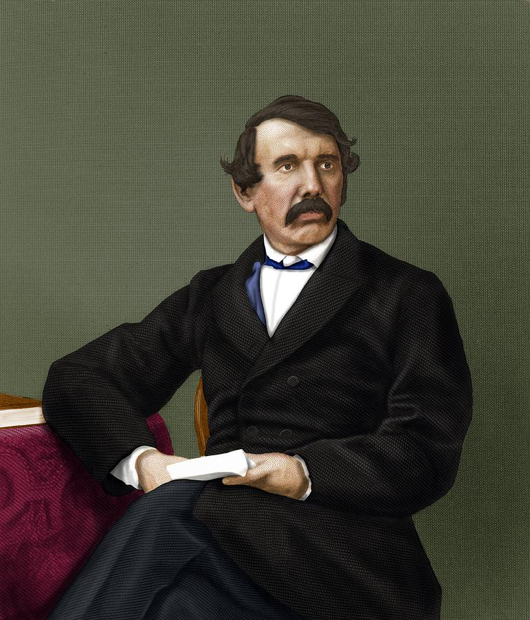 David Livingstone, Scottish Explorer Photograph