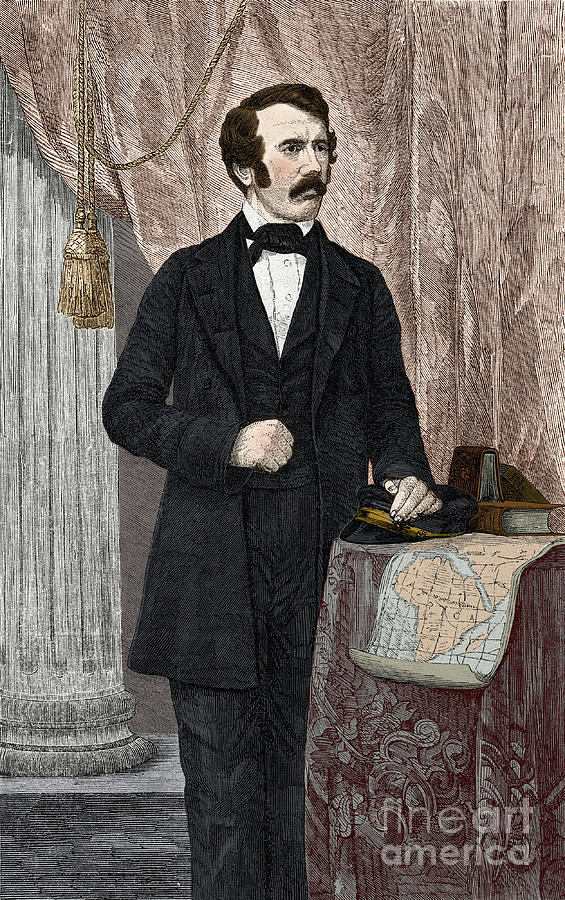 David Livingstone, Scottish Missionary Photograph