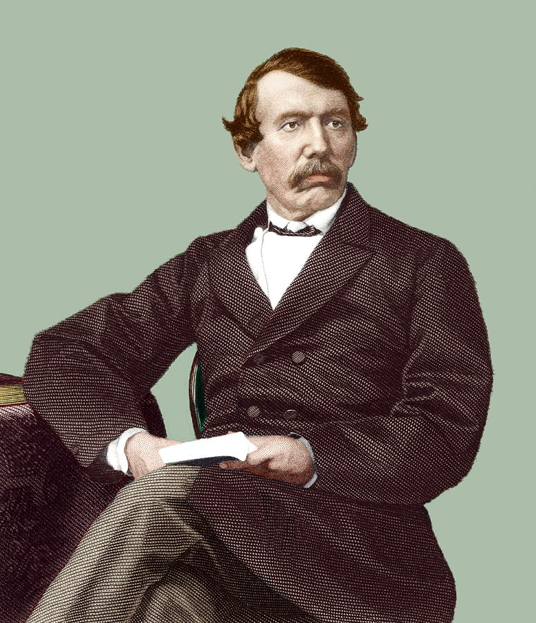 David Livingstone, Scottish Missionary Photograph  - David Livingstone, Scottish Missionary Fine Art Print