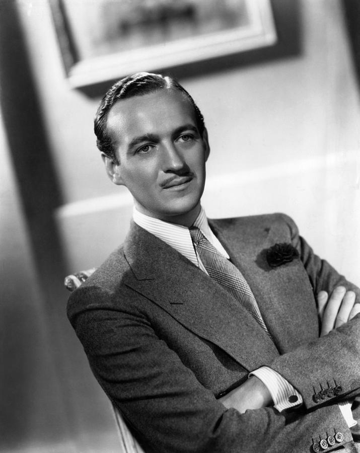 David Niven, Ca. Late 1930s Photograph  - David Niven, Ca. Late 1930s Fine Art Print