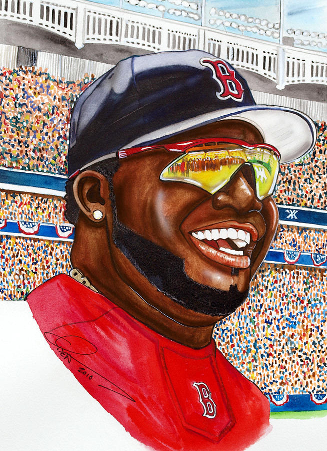 David Ortiz Painting
