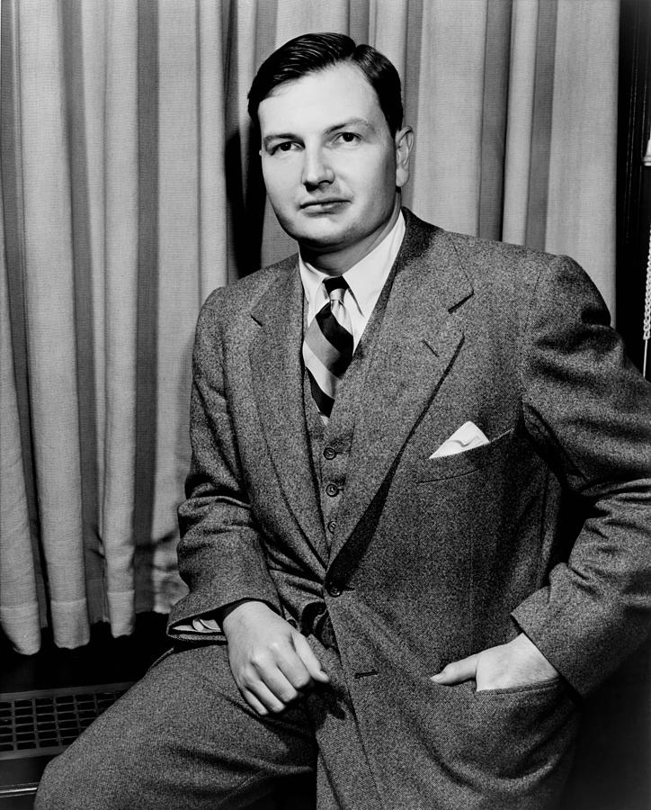 David Rockefeller B. 1915 Grandson Photograph
