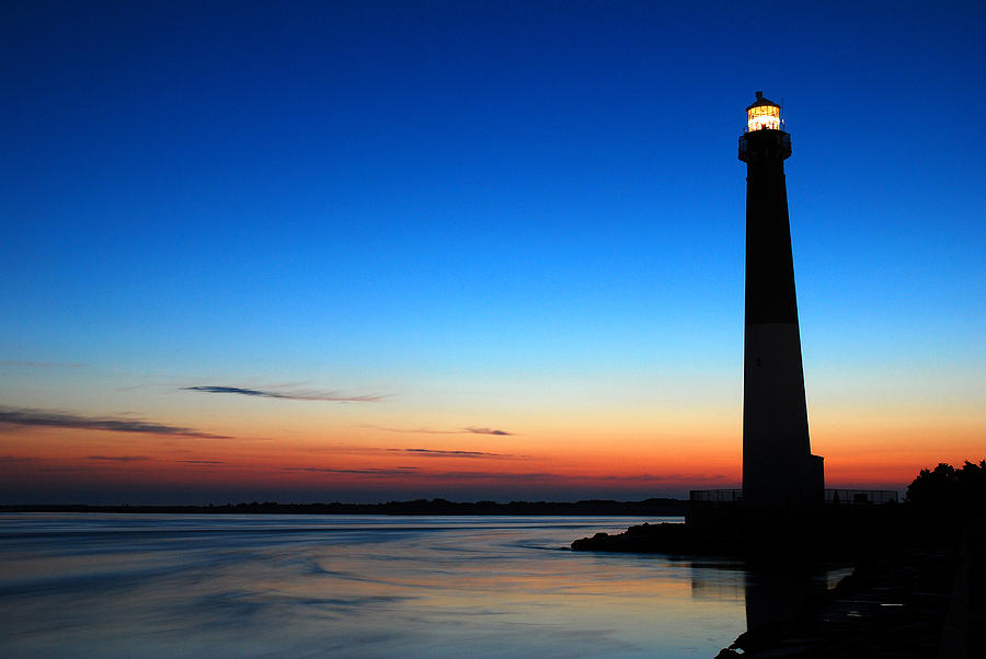 Dawn At Barnegat Light Photograph  - Dawn At Barnegat Light Fine Art Print