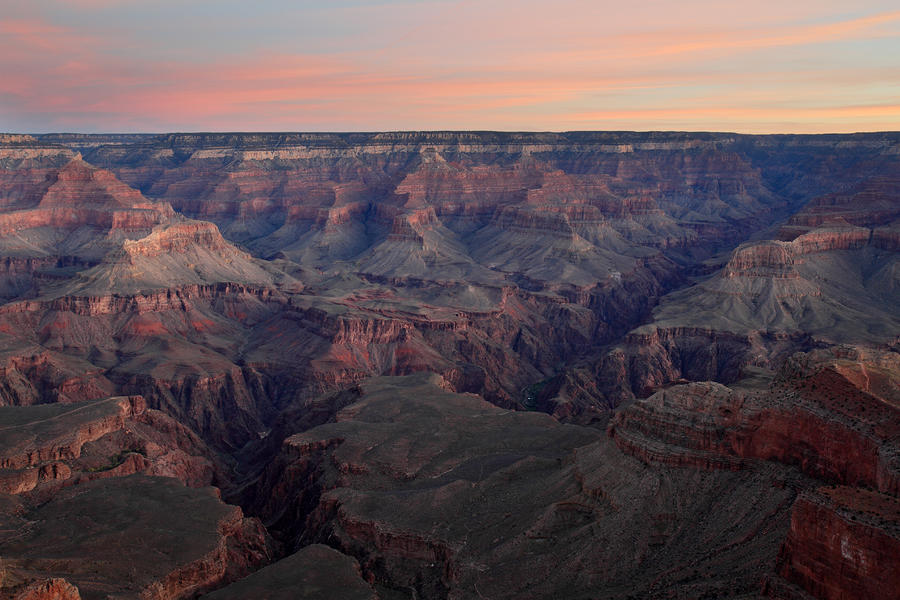 Dawn At Grand Canyon Photograph  - Dawn At Grand Canyon Fine Art Print